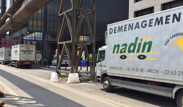 la société de déménagements Nadin