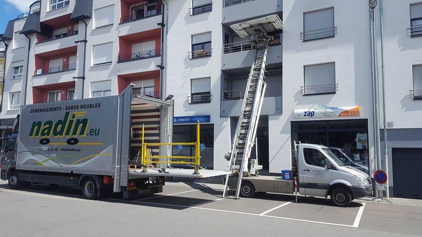 déménageurs au Luxembourg