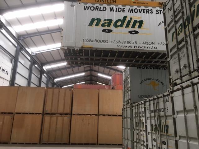 stockage de meubles au luxembourg